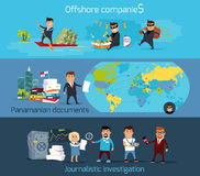 Panama Papers Offshore Company Stock Photo