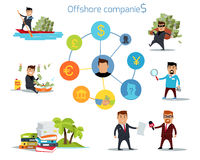 Panama Papers Offshore Company Royalty Free Stock Photos