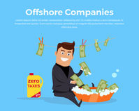 Panama Papers Offshore Company Royalty Free Stock Images