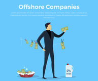 Panama Papers Offshore Company Royalty Free Stock Photography
