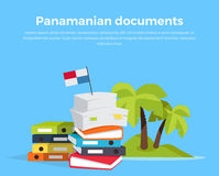 Panama Papers Offshore Company Royalty Free Stock Photo
