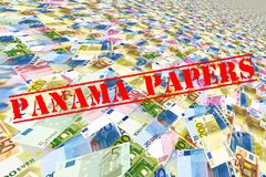 Panama papers Royalty Free Stock Photos