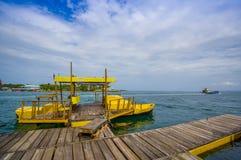 Panama pier Stock Image
