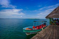Panama pier Royalty Free Stock Photos