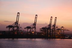 Panama Port Stock Image