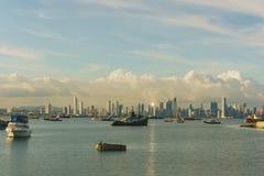 Panama`s City Skyline Royalty Free Stock Photo