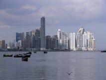 Panama-Skyline Lizenzfreies Stockfoto