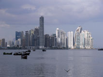 Panama skyline Royalty Free Stock Photo