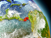 Panama from space Royalty Free Stock Photos