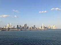 Panama-Stadt Skyline im Jahre 2013 Stockfoto