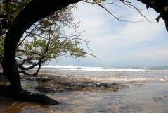 Panama-Strand Lizenzfreie Stockfotos