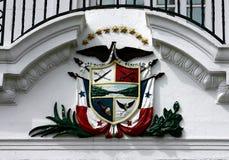 Panama-Wappen Lizenzfreie Stockfotografie
