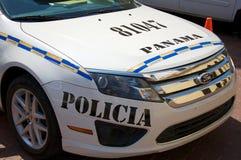 Panamaischer Polizeiwagen Stockfotos