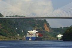 Panamakanal Stockfoto