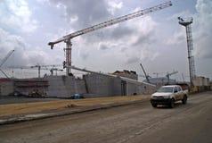 Panamakanalerweiterung V lizenzfreies stockfoto