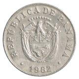 5 Panamanian centimonos moneta Obraz Stock