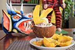 Panamanian de fruits de mer Photographie stock