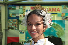 Panamanian girl Stock Photography