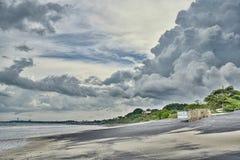 Panamanian plaża Zdjęcie Royalty Free