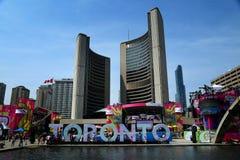 Panamerican gmes i Toronto, Kanada Arkivfoto
