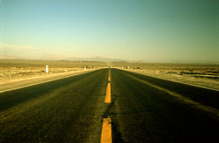 Panamericana Street. The Panamericana street in the desert of peru Stock Photography