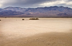 Panamint Dry Lake Bed Stock Photo