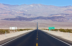 Panamint Valley Stock Image