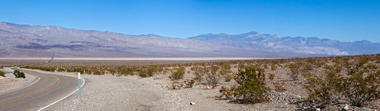 Panamint Valley Royalty Free Stock Photo
