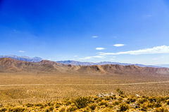 Panamint Valley desert Royalty Free Stock Photography