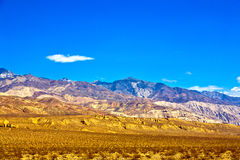 Panamint Valley desert in the Mojave Desert Royalty Free Stock Photos