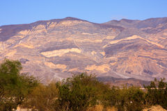Panamint Valley mountain range Royalty Free Stock Images