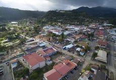 Panamscy przeglądu miasta budynki gubernialni obrazy royalty free