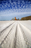 Panamska miasto plaża Floryda Fotografia Stock