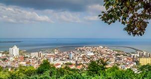 Panamski Casco Viejo widok fotografia stock