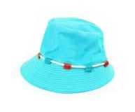 Panamski kapelusz odizolowywający na bielu Zdjęcie Royalty Free