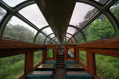 Panamski kolej pociągu wnętrze Zdjęcia Stock