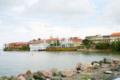 Panamski miasta Casco viejo Obraz Royalty Free