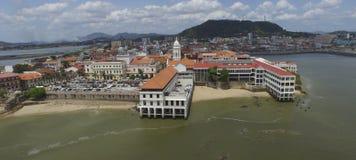 Panamski rządowy i swój otoczenia Zdjęcia Royalty Free
