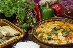 Panang curry Royaltyfria Bilder