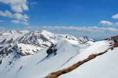 Panaorama de las montañas del oeste de Tatra, Polonia Fotografía de archivo
