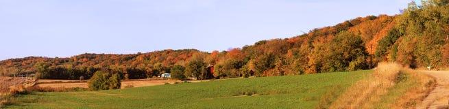 Panaoramic-Ansicht entlang den szenischen Seitenweg stockbild