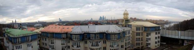 Panarama της Μόσχας Στοκ φωτογραφία με δικαίωμα ελεύθερης χρήσης