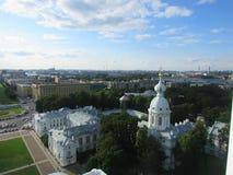 Panarama di St Petersburg Immagini Stock