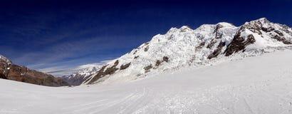 Panarama en Abel Tasman Glacier Foto de archivo
