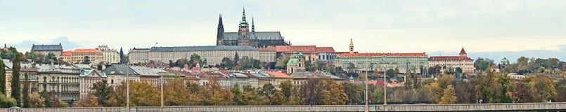 Panarama Prague Stock Photo