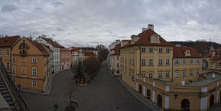 Panarama Prague Stock Photography