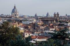 Panarama of Rome Royalty Free Stock Images