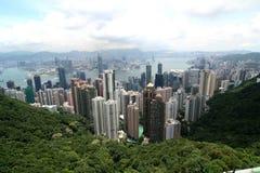 panaramic的香港 免版税库存照片