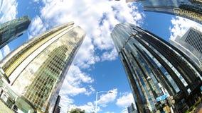 Panaramic skyskrapa Royaltyfri Bild