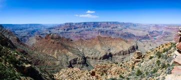 South Rim of Grand Canyon in Arizona. Panaramic view of South Rim of Grand Canyon in Arizona, USA Stock Photos
